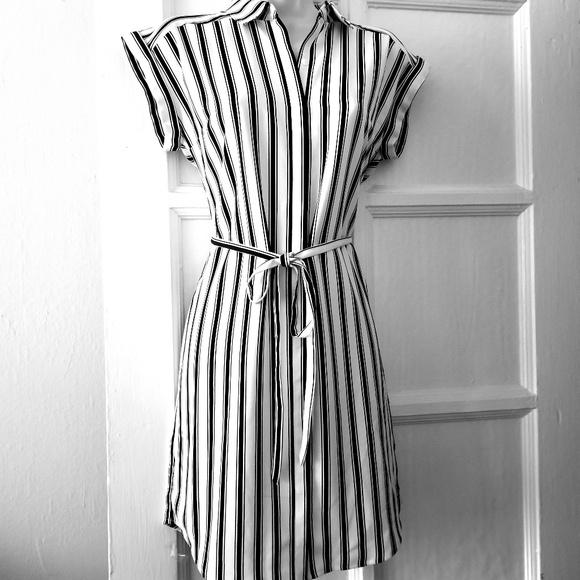 607958ac7c6 Express Dresses   Skirts - Express Stripe Shirt Dress NWOT